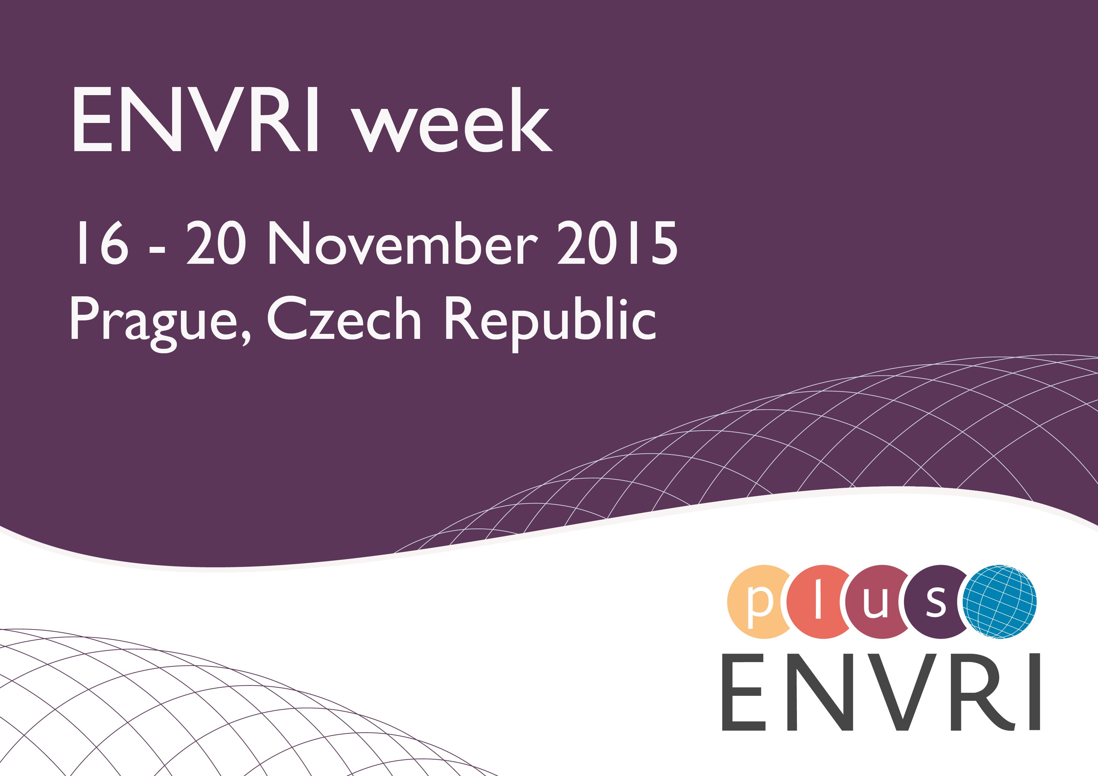 ENVRI week invitation
