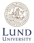 LUNDS UNIVERSITET (LU)<br /> Sweden