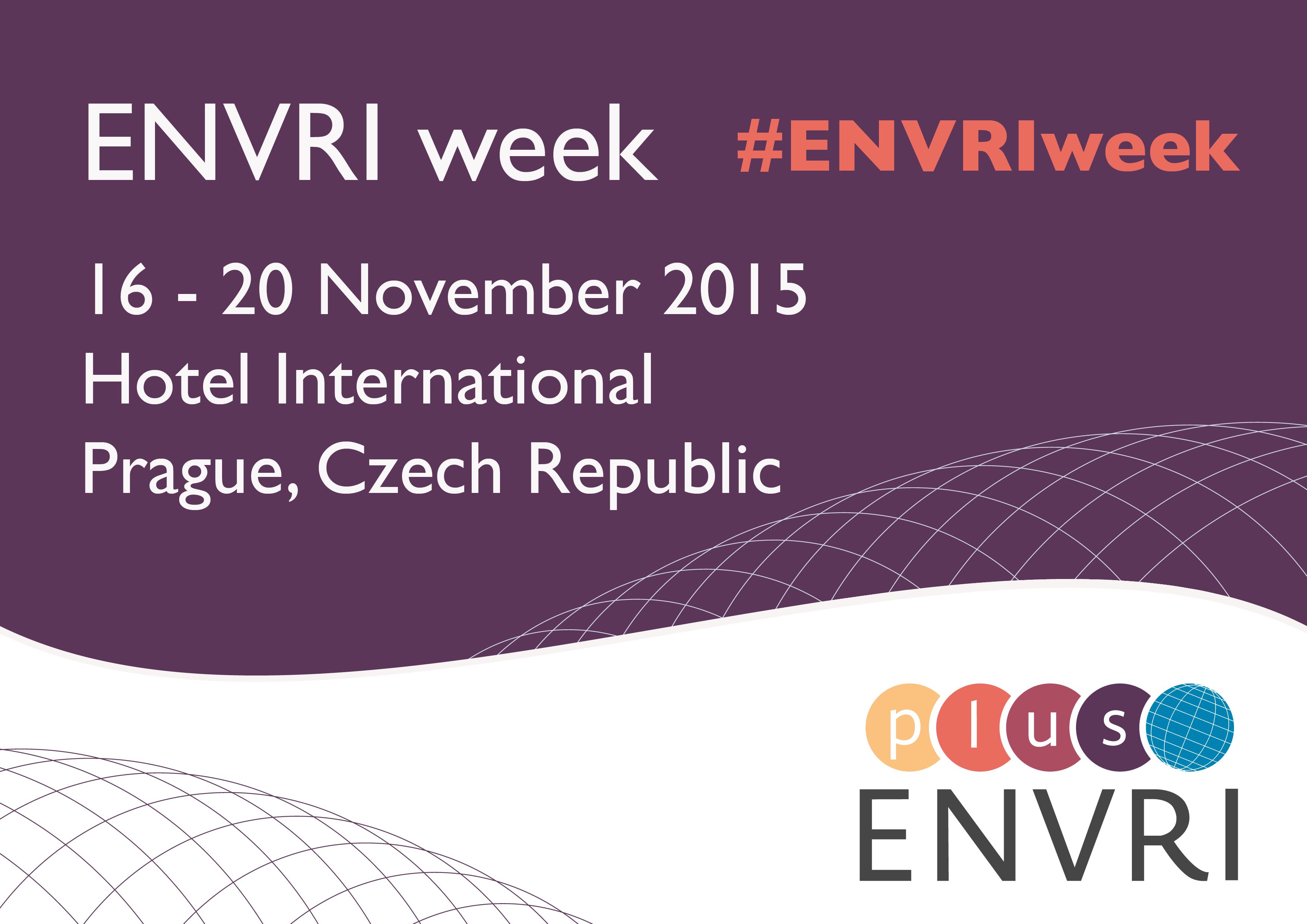 ENVRI week invitation#