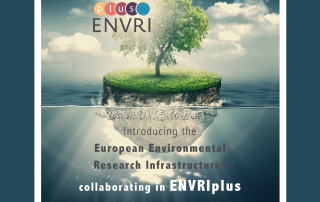 Booklet_EnvRIs in ENVRIplus_first page