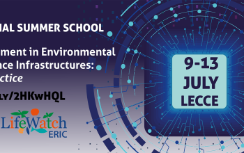 "International Summer School ""Data Management in Environmental & Earth Science Infrastructures: Theory & Practice"" July 9 – July 13"