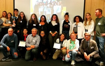 Schools received awards for the ENVRIplus scientific school competition