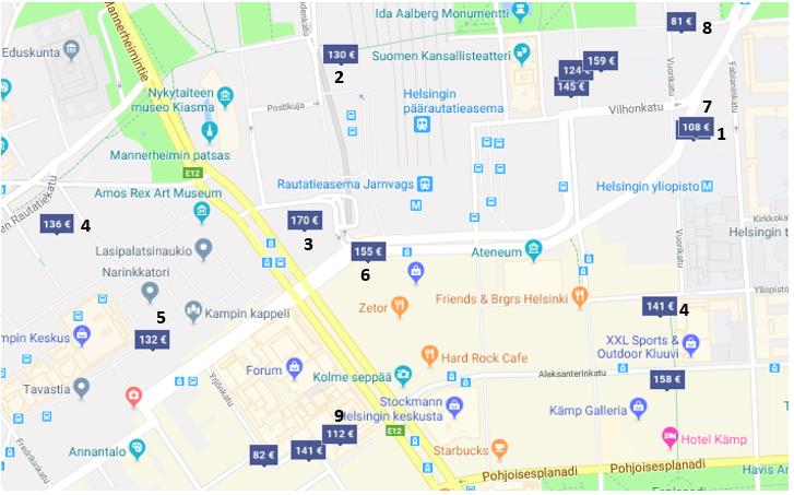 Hotels Helsinki